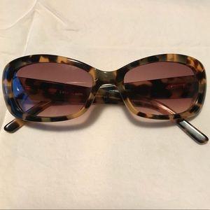 Kate Spade Venessa sunglasses tortoise amber lense